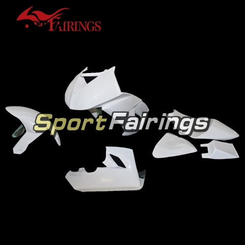 Unpainted Fiberglass Racing Fairing Kit Fit For Kawasaki ZX10R 2008-2010 - Naked Bodywork