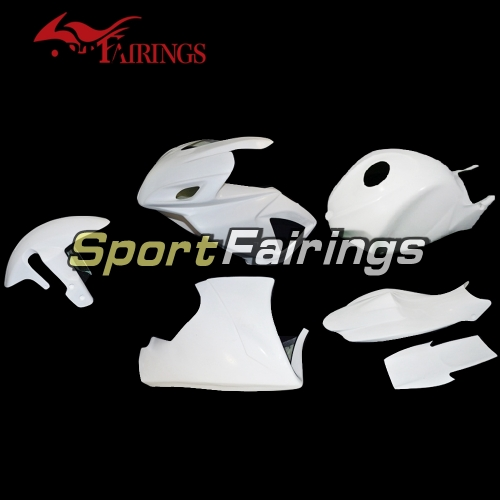 Unpainted Fiberglass Racing Fairing Kit Fit For Suzuki GSXR600 750 2006 - 2007