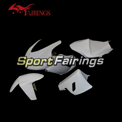 Unpainted Fiberglass Racing Fairings Fit For Kawasaki ZX6R 636 2007-2008 - Naked Bodywork