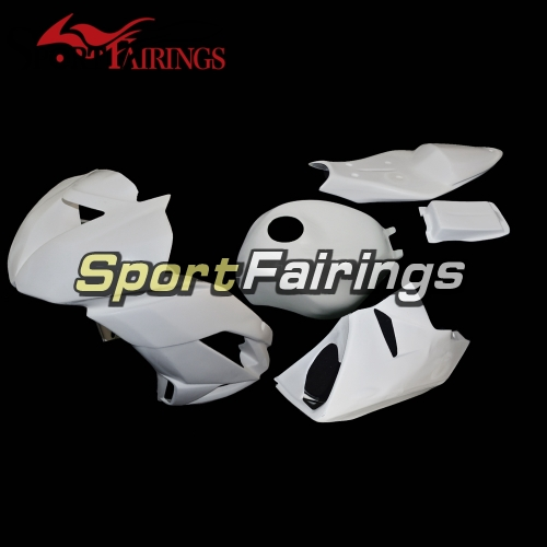 Unpainted Fiberglass Racing Fairing Kit Fit For Kawasaki ZX6R 636 2009-2012 - Naked Cowlings