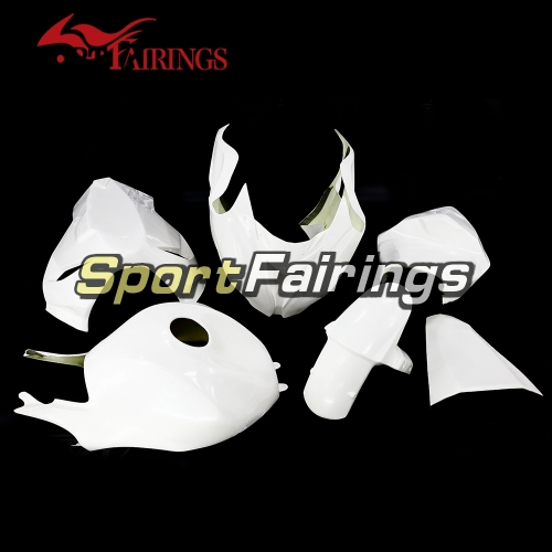 Unpainted Fiberglass Racing Fairing Kit Fit For Kawasaki ZX-6R 636 2013-2015 - Naked Cowlings