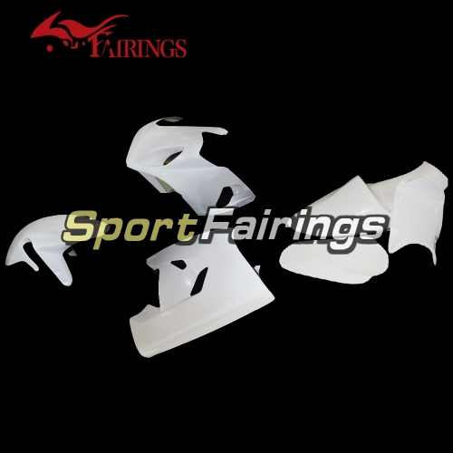 Unpainted Racing Fiberglass Fairing Kit Fit For Suzuki GSXR600 750 2004 - 2005