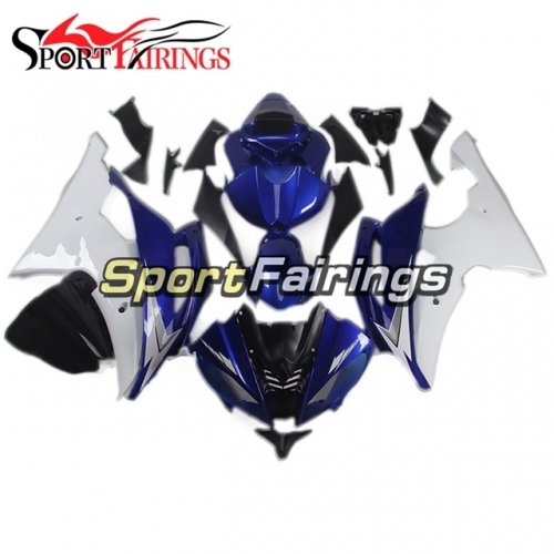 Fairing Kit Fit For Yamaha YZF R6 2008 - 2016 - Blue White
