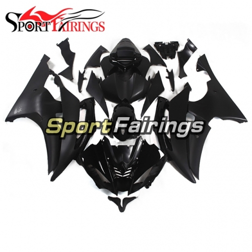 Fairing Kit Fit For Yamaha YZF R6 2008 - 2016 - Gloss Black and Matte Black