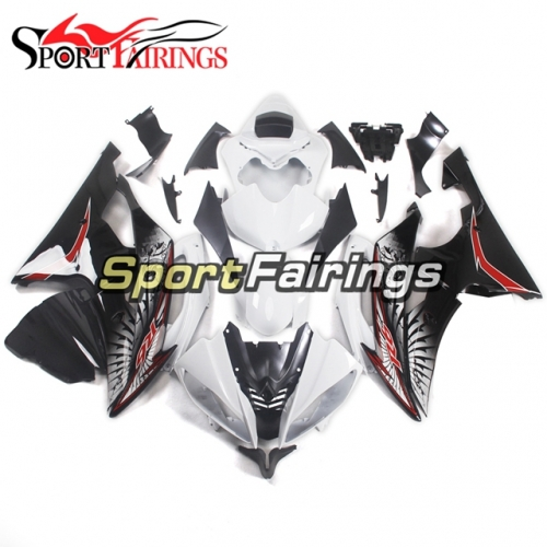 Fairing Kit Fit For Yamaha YZF R6 2008 - 2016 - White Red