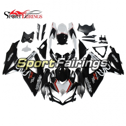 Fairing Kit Fit For Suzuki GSXR600 750 2008 - 2010 - White Black Red