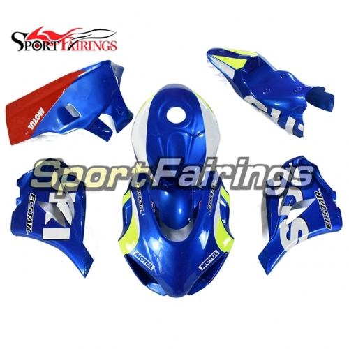 Fiberglass Racing Motorcycle Fairing Kit Fit For Suzuki GSXR1000 2017 2018 2019 New Arrival Cowlings-Blue Yellow Red