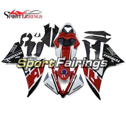Fairing Kit Fit For Yamaha YZF R1 2012 - 2014 - Red White and Black