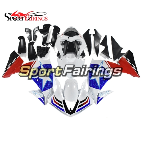 Fairing Kit Fit For Yamaha YZF R1 2009 - 2011 - Blue Red and White