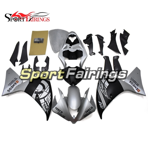 Fairing Kit Fit For Yamaha YZF R1 2012 - 2014 -Matte Black and Matte Black