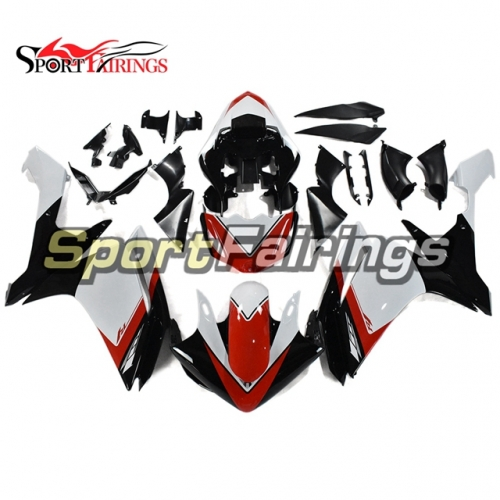 Racing Fairing Kit Fit For Yamaha YZF R1 2007 2008 - White Red and Black