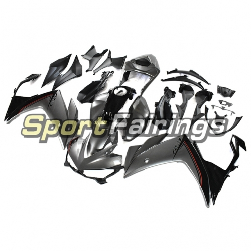 Fairing Kit Fit For Yamaha YZF R25 R3 2014 - 2018 - Grey Black