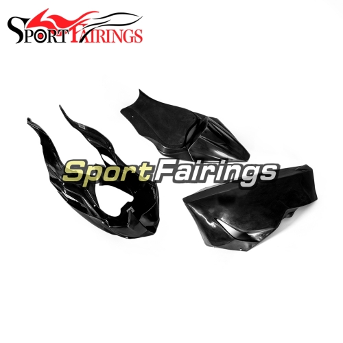 Unpainted Fiberglass Racing Fairing Kit Fit For Kawasaki ZX6R 2019 - Naked Bodywork