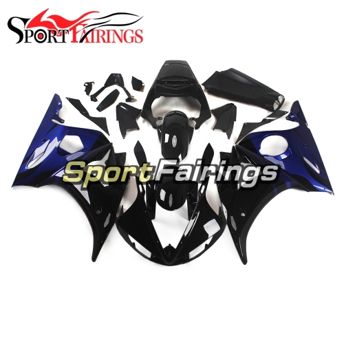 Fairing Kit Fit For Yamaha YZF R6 2003 2004 R6S 06 - 09 - Blue and Black