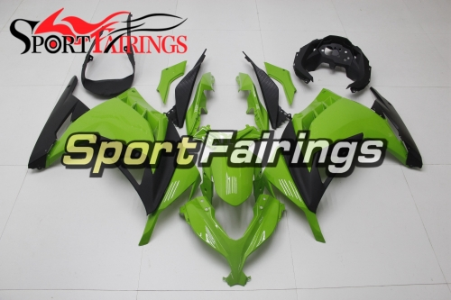 Full Fairing Kit Fit For Kawasaki EX300R Ninja 300 2013 2014 2015 - Green Black