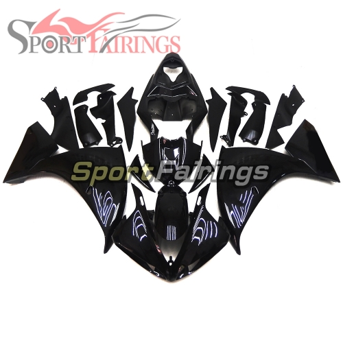 Fairing Kit Fit For Yamaha YZF R1 2009 - 2011 - Gloss Black