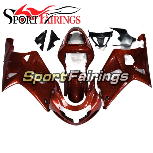 Fairing Kit Fit For Suzuki GSXR600 750 2000 - 2003 - Red