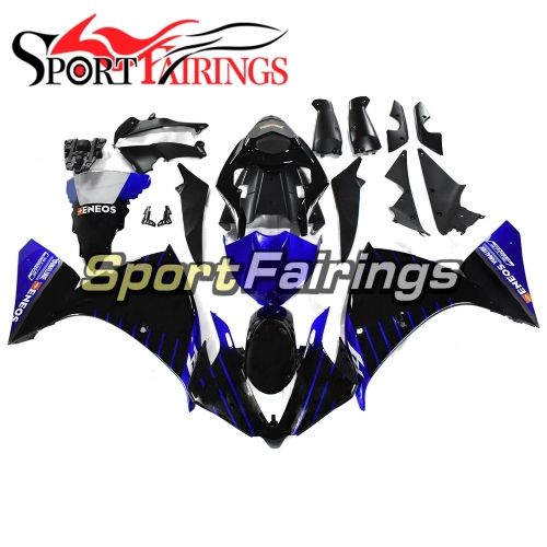 Fairing Kit Fit For Yamaha YZF R1 2012 - 2014 -Blue and Black
