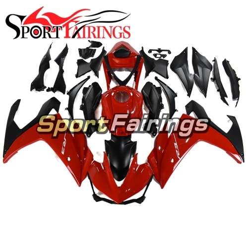 Fairing Kit Fit For Yamaha YZF R25 R3 2014 - 2018 - Candy Red and Black