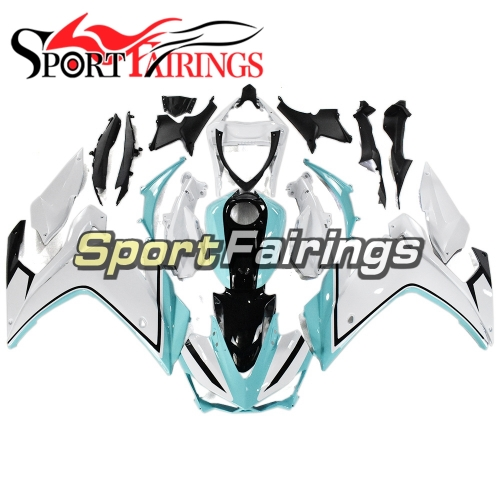 Fairing Kit Fit For Yamaha YZF R25 R3 2014 - 2018 - White Blue and Black