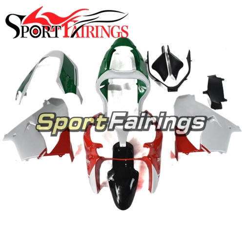 Motorcycle Fairing Kit Fit For Kawasaki ZX9R 2000 - 2001 - White Red Green Black