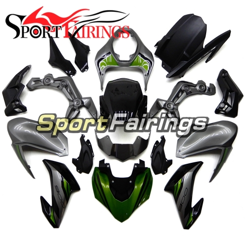 Motorbike Fairing Kit Fit For Kawasaki Z900 2017 - 2018 - Glossy Grey Black Green