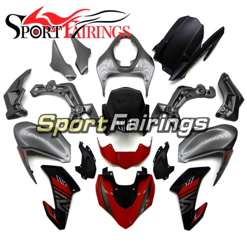 Fairing Kit Fit For Kawasaki Z900 2017 - 2018 - Silver Red Black