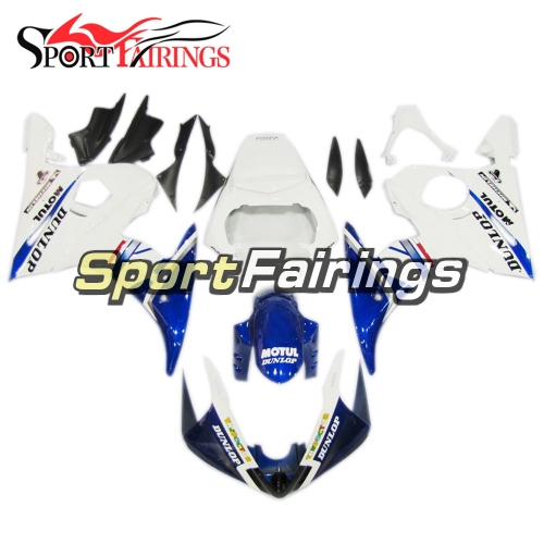 Fairing Kit Fit For Yamaha YZF R6 2005 -  Blue White