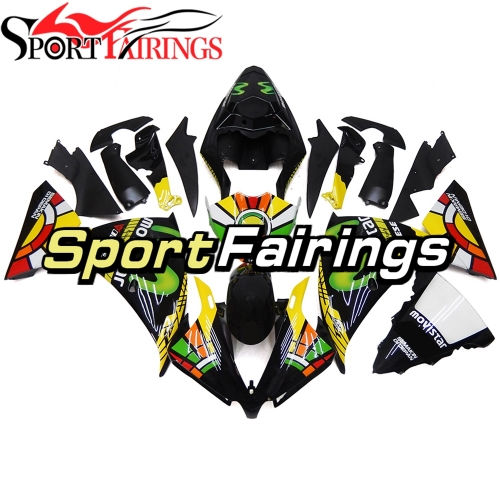 Fairing Kit Fit For Yamaha YZF R1 2012 - 2014 - Movistar Colorful