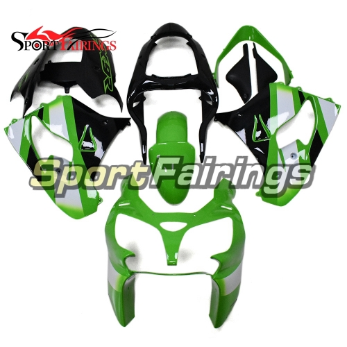 Motorcycle Fairing Kit Fit For Kawasaki ZX9R 2000 - 2001 - Green Black