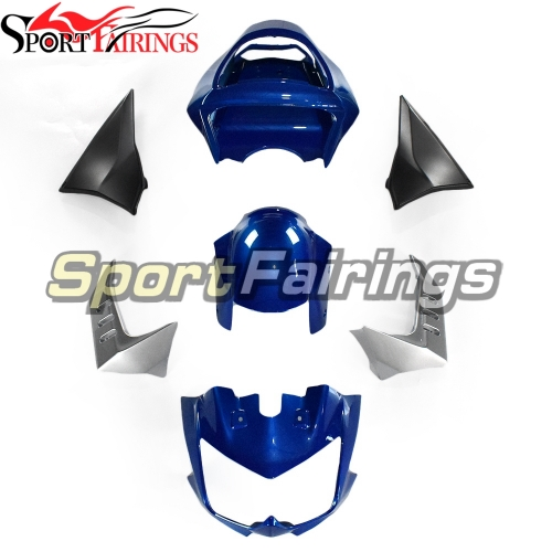 Full Fairing Kit Fit For Kawasaki z1000 2003 - 20006 - Gloss Blue Silver