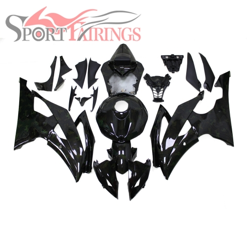Fairing Kit Fit For Yamaha YZF R6 2008 - 2016 - Water transfer