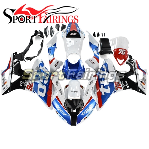Fairing Kit Fit For BMW S1000RR 2011 - 2014 - White Red Blue